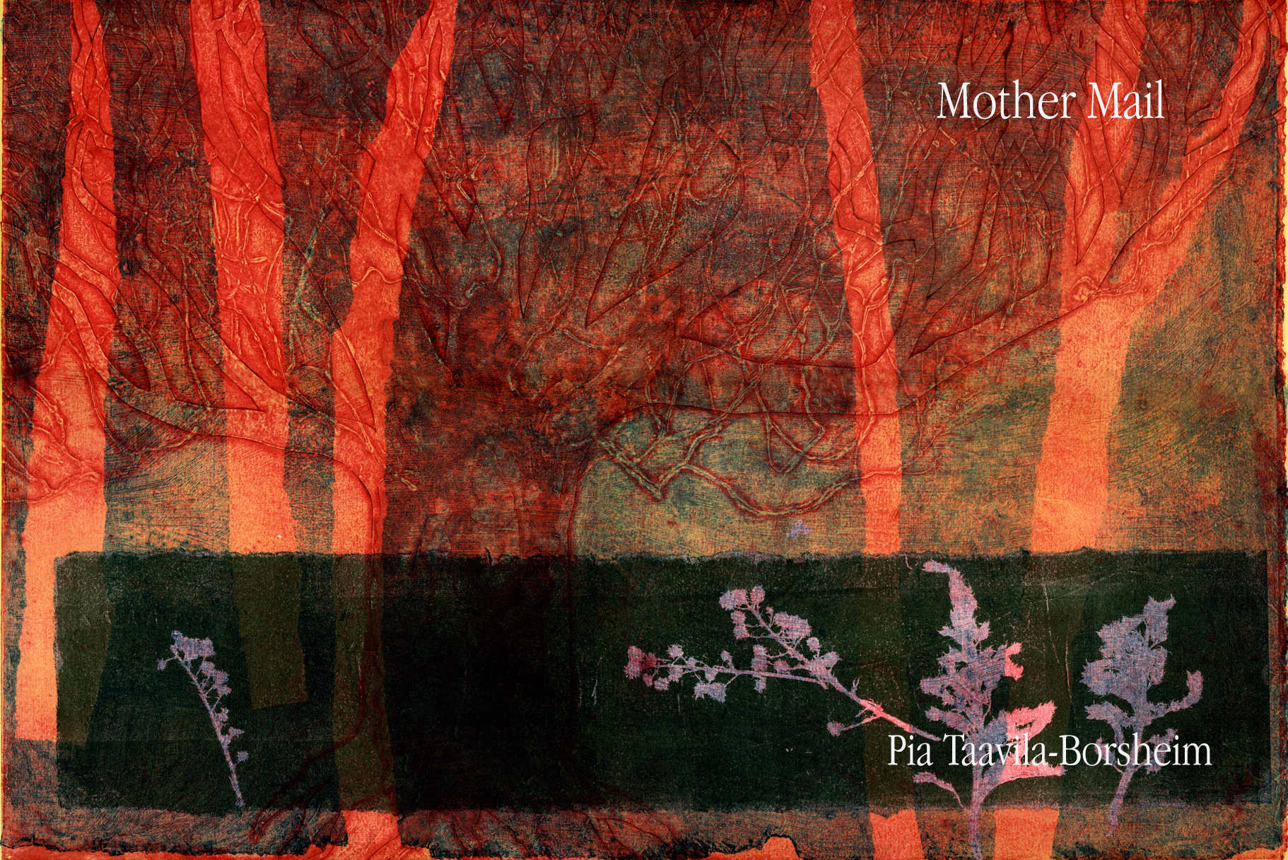 mother mail cover art with text